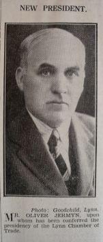 1933 Feb 3rd Oliver Jermyn