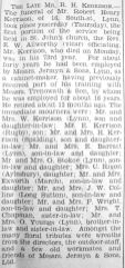 1934 Apr 13th obit RH Kerrison @ Jermyns