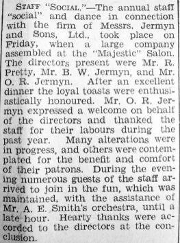 1935 Mar 22nd Jermyns staff social inc directors