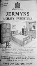 1945 Nov 2nd Jermyns utility furniture