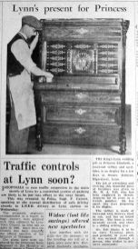 1947 Nov 7th Jermyns present for Princess on display 2