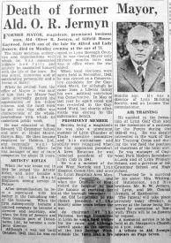 1950 Feb 3rd obit Oliver Jermyn