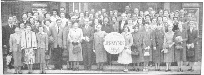 1954 July 9th Jermyns staff outing crop