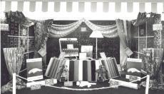 1955 (circa) Jermyns carpet display (PM Goodchild)