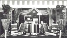 1955 (circa) Jermyns carpet display (PM Goodchild)