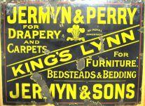 Sign from over back door (Keith Jermyn)