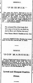 1885 Sept 26th Jermyns Phoenix Bon Marche (03)