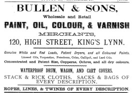 1883 Bullen & Son directory