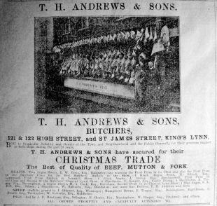 1914 Dec 18th T H Andrews