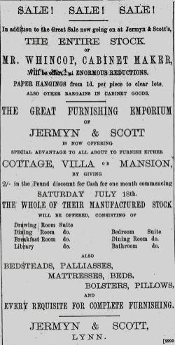 1891 August 8th Jermyn & Scott Whincop