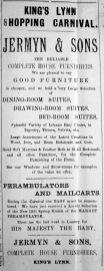 1921 April 15th Jermyn & Sons