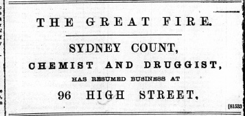 1897 Dec 31st Sydney Count No 17 to No 96