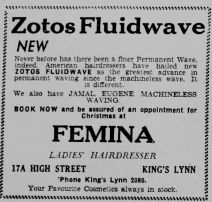 1951 Nov 23rd Femina Ladies Hairdresser contrast