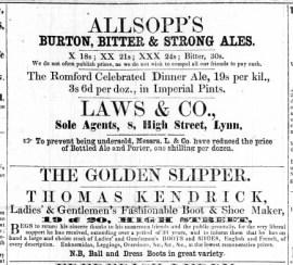1863 Feb 14th Thomas Kendrick @ Nos 19 & 20