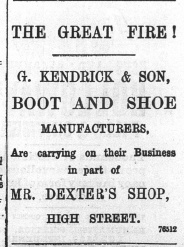 1897 Dec 31st G Kendrick & Son @ Nos 19 & 20