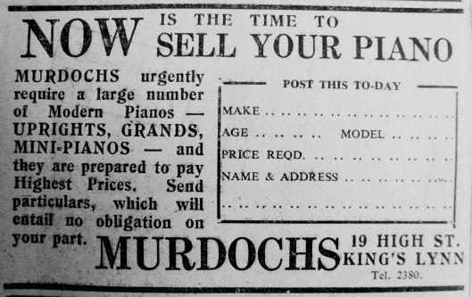 1945 Mar 9th Murdochs