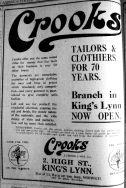 1927 Feb 25th Crooks Now Open