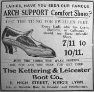 1933 Nov 17th Kettering & Leicester