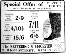 1933 Oct 13th Kettering & Leicester