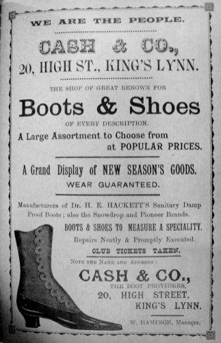 1904 Sconces Almanack Cash & Co