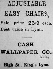 1923 Sept 14th Cash Wallpaper Co