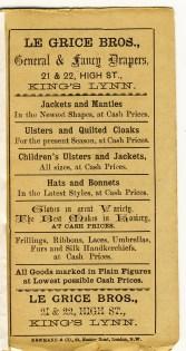 1891 ad calendar Le Grice Bros (2) (Barbara Le Grice)