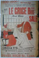1900 Le Grice Bros poster (Barbara Le Grice)