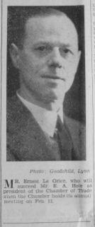 1936 Jan 31st Ernest Le Grice pic