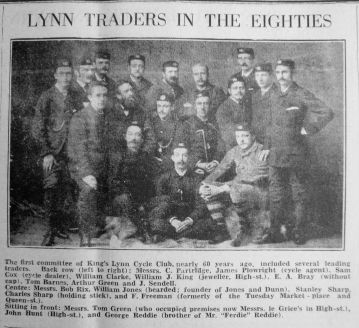 1941 Feb 28th Lynn Traders c 1881 inc Tom Green