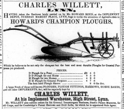 1860 March 3rd Charles Willett @ Nos 23 to 26