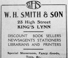 1907 Guide W H Smith