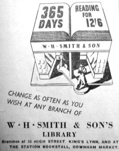 1950 Jan 20th W H Smith & Son