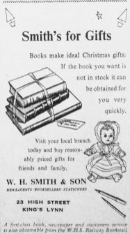 1951 Nov 23rd W H Smith & Son