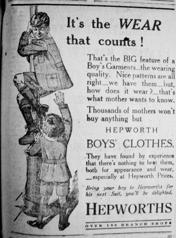 1924 Aug 29th Hepworths
