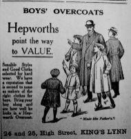 1924 Dec 5th Hepworths