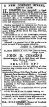 1875 February 20th John R Cossons @ 34