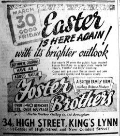 1945 Mar 23rd Foster Bros