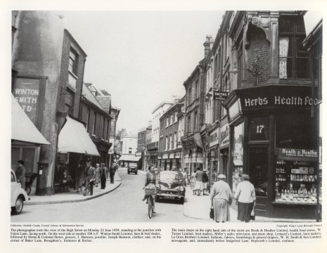 1959 June 22nd Nos 17 (Heath & Heather) to No 34 (Foster Bros) (Michael Winton Later Lynn)