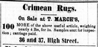 1857 Jan 10th T March @ 36 & 37