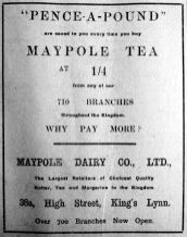 1912 Feb 10th Maypole @ 38a