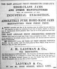 1891 Nov 14th Ladymans