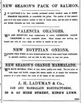 1895 May 18th J H Ladyman @ Nos 39 & 40