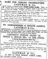 1897 June 4th Ladymans @ Nos 39 & 40 01