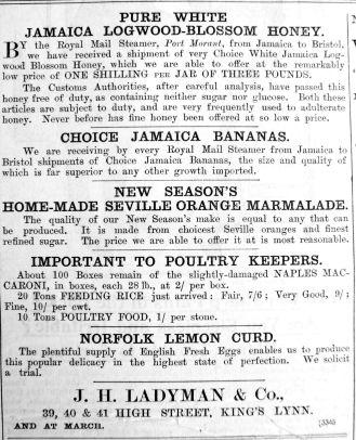 1902 May 16th Ladymans