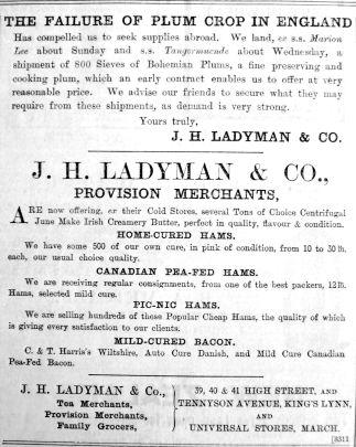 1903 Aug 28th Ladymans