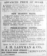 1904 Nov 25th Ladymans