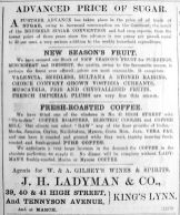 1904 Nov 25th Ladymans