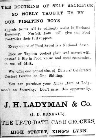 1917 Dec 7th Ladymans