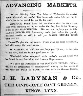 1917 Feb 16th Ladymans