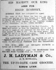 1917 May 11th Ladymans